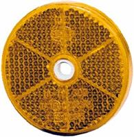 Reflector oranje Ø60mm