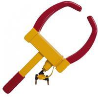 Tom wielklem 175 275 mm staal geel/rood