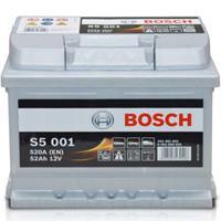 bmw Bosch S5 001 Silver Accu 52 Ah