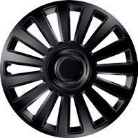 4-Delige Wieldoppenset Luxury Black 13 Inch