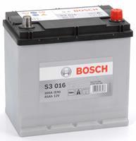 renault Bosch S3 016 Black Accu 45 Ah