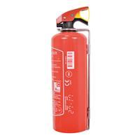 Brandblusser 1kg - Rood - inclusief montagebeugel