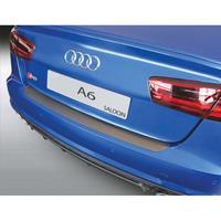 ABS Achterbumper beschermlijst Audi A6 Sedan 6/2016- Zwart