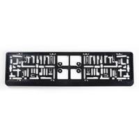 AutoStyle kentekenplaathouder 52 x 11 cm zwart