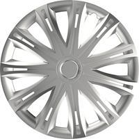 4-Delige Wieldoppenset Spark Silver 13 Inch