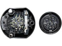 TFA Auto 88005 Aanhangerstopcontact [ - Stekkerdoos, 13-polig] Kunststof