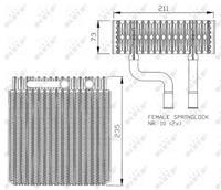 ford Verdamper, airconditioning