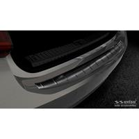 Zwart RVS Achterbumperprotector passend voor Audi A7 (C8) Sportback 2018Ribs'