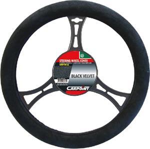 carpoint Stuurhoes suedine zwart 10075