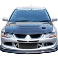 chargespeed Charge Speed VSpoiler MT Lancer EVO 8 CT9A Botto CS 4010
