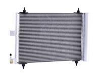 ridex Condensor Airco PEUGEOT,CITROËN 448C0004 6455CP,6455FX,6455GY Airco Radiator,Condensator, airconditioning 6455CP,6455FX,6455GY