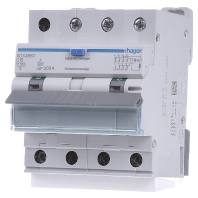 HAGER ADX466D - Earth leakage circuit breaker C16/0,03A ADX466D