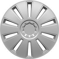 hpautozubehör HP Autozubehör GRID Wieldoppen R15 Zilver 1 stuk(s)