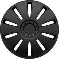 hpautozubehör HP Autozubehör GRID Wieldoppen R16 Zwart 1 stuk(s)