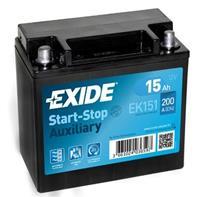 Exide Start-Stop Auxiliary EK151 15 Ah EK151