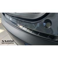 Avisa Zwart RVS Achterbumperprotector passend voor Mazda CX-30 2019- 'Ribs' AV245001