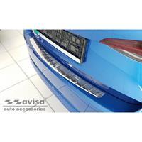 Avisa RVS Achterbumperprotector passend voor Skoda Octavia IV Liftback 2020- 'Ribs' AV235769