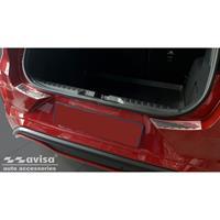 Avisa RVS Achterbumperprotector passend voor Ford Puma 2019- 'Ribs' (2-delig) AV235940