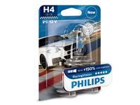 PHILIPS Gloeilamp H4 RacingVision 60/55W [12V] (1 st.) | , 12 V