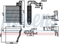 Nissens Verdamper, airconditioning 92333