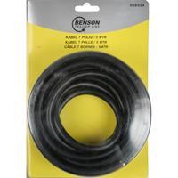 Benson Aanhangwagen Kabel - 7-Polig - 1 mm² - 5 meter - Zwart