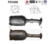 AS Partikelfilter, uitlaatinstallatie FD1048