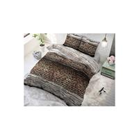 Sleeptime Panther Style Taupe Taupe 140 x 220