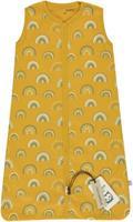 Briljant Baby zomerslaapzak Rainbow junior katoen geel