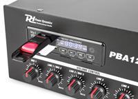 Power Dynamics PBA30 100V versterker 30W met mp3 speler, tuner en