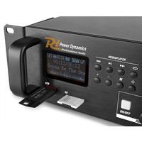 Power Dynamics PDV360MP3 100V 4-zone versterker met o.a. Bluetooth
