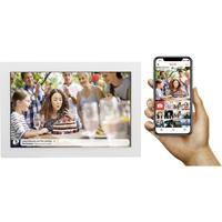 Denver PFF-1017WHITE Digitale WiFi-fotolijst 25.7 cm 10.1 inch 1280 x 800 Pixel 16 GB Wit