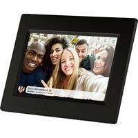 Braun Germany DigiFrame 718 WiFi Digitale fotolijst 17.8 cm 7 inch 1024 x 600 Pixel 8 GB Zwart