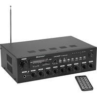 Omnitronic CPZ-120P ELA PA-versterker 120 W 4-kanaals 4 zones