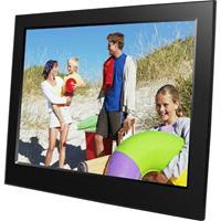 Braun Phototechnik DigiFrame 8 slim Digitale fotolijst 20.3 cm 8 inch 1280 x 800 Pixel Zwart