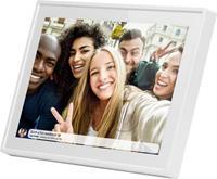 Braun Phototechnik DigiFrame 1019 WiFi weiss Digitale fotolijst 25.7 cm 10.1 inch 1280 x 800 Pixel 16 GB Wit