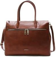 "Gigifratelli Romance Lady Businessbag 15"" brandy"