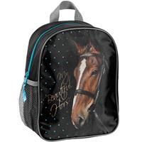 Animal Pictures Rugzakje My beautiful horse zwart - 28 x 22 x 10 cm - Polyester