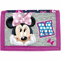 Disney Minnie Mouse Portemonnee Cute - 12 x 8 cm - polyester