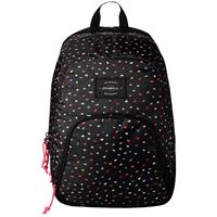 O'Neill Wedge Backpack black aop w / yellow