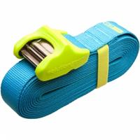 Sea To Summit Spanriem Tie Down Silicone Cam Cover 3.5m 2 Pack Blue/lime - Blauw