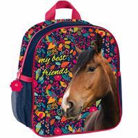 Animal Pictures Paarden Peuter- Kleuterrugzak, My best friends - 28 x 22 x 10 cm - Polyester