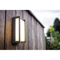 Lutec buitenlamp Qubo antraciet