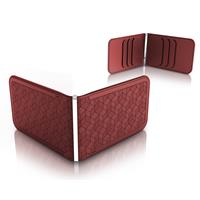 Dosh Luxe Embossed Cubic Rust