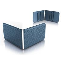 Dosh Luxe Embossed Cubic Blue