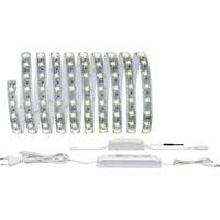 Paulmann Home LED-strip (startset) Reflex LED vast ingebouwd Warm-wit, Neutraal wit, Daglicht-wit Wit 50080