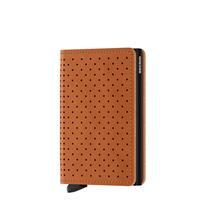 Secrid Slim Wallet Portemonnee Perforated Cognac