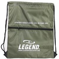 Legend Sports sporttas met vakje 40 x 50 cm army green