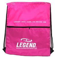 Legend Sports sporttas met vakje 40 x 50 cm roze