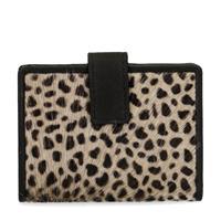 Manfield Portemonnee met cheetahprint