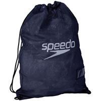 Speedo zwembadtas Equipment 35 liter polyester marineblauw